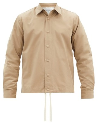 Officine Generale Stan Cotton-poplin Overshirt - Beige