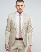 Selected Homme Slim Cotton Stretch Suit Jacket