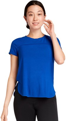Danskin Womens' High-Low Hem Tee