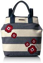 Tommy Hilfiger Aurora Floral Stripe Backpack