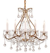 The Well Appointed House Paramour Crystal Chandelier