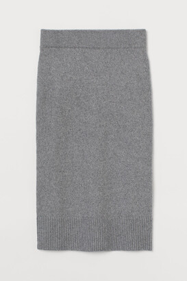 H&M Knit Skirt - Gray