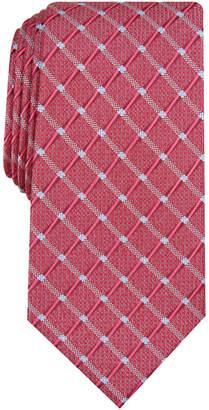 Perry Ellis Men Brodie Grid Tie
