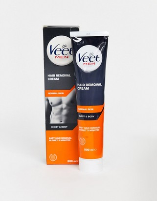 Veet for Men Body and Chest Hair Removal Cream 200ml