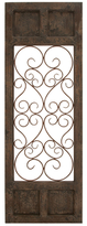 3-Section Wooden Wall Panel