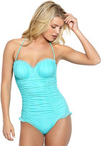 Betsey Johnson Ballerina Mesh One Piece