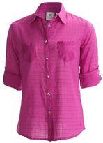 White Sierra Pauliana Overshirt - Long Sleeve (For Women)