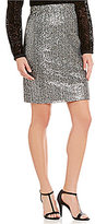 Daniel Cremieux Madison Sequin Pencil Skirt
