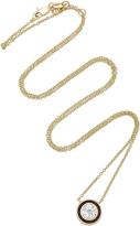 Sydney Evan Single Diamond Enamel Necklace