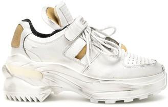 Maison Margiela Strap Lace-Up Sneakers
