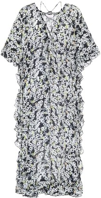 See by Chloe Floral-printed crepe dress