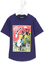 DSQUARED2 Surf Squad print T-shirt - kids - Cotton - 4 yrs