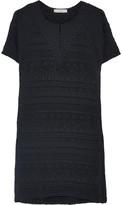 IRO Belzer embroidered voile mini dress