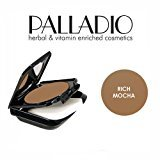 Palladio 3 Pack Beauty Herbal Dual Wet & Dry Foundation 407 Rich Mocha