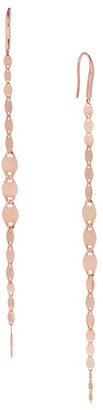 Lana 14K Rose Gold Graduating Chain Drop Earrings