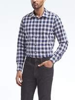 Banana Republic Camden Standard-Fit Custom-Wash Check Shirt