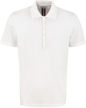 Thom Browne Short-sleeved Cotton Polo Shirt