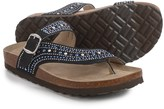 White Mountain Harbour Cross-Strap Footbed Sandals (For Women)