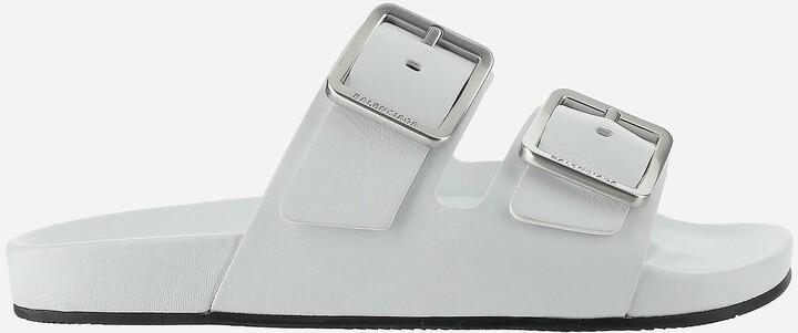 Balenciaga White Sandals