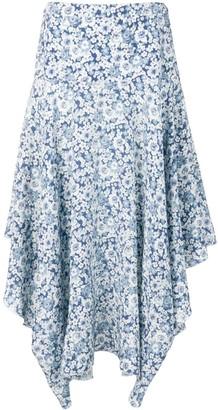 Stella McCartney flower print skirt