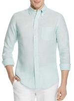 Brooks Brothers Regent Linen Slim Fit Button-Down Shirt