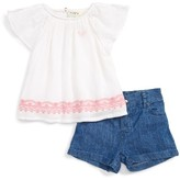 Roxy Infant Girl's You Win Top & Shorts Set