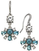 Charter Club Clear & Colored Crystal Drop Earrings, Only at Macy's