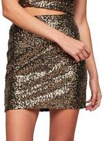 Miss Selfridge Sequin Mini Skirt