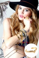 Vanessa Mooney Lynx Cuff in Gold