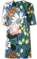 Marni Madder print dress - women - Cotton/Linen/Flax - 48