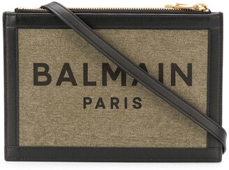 Balmain Three-Pouches 22 Canvas Bag