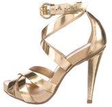 KORS Wink Metallic Sandals