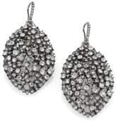 ABS by Allen Schwartz Faceted Almond Drop Earrings