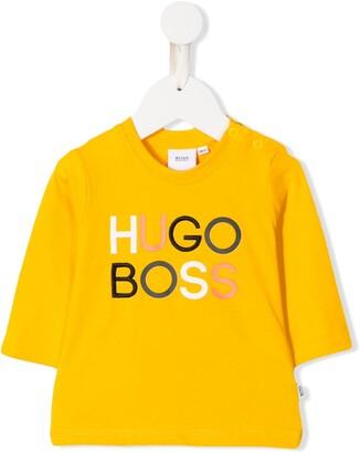 Boss Kidswear Logo Print Top