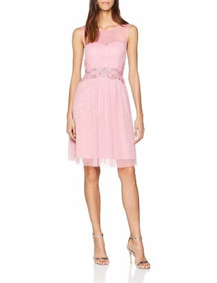 Little Mistress Women's Prom with Trim Party Dress