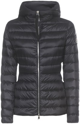 Moncler Amethyste Hooded Quilted Nylon Down Jacket