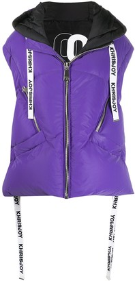 KHRISJOY Oversized Hooded Puffer Jacket