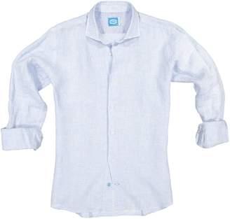 Panareha Fiji Linen Shirt in Light Blue