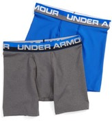 Under Armour Boy's 2-Pack Boxer Briefs
