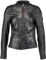 Maze BRIGHTWATER Leather jacket black