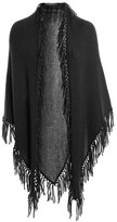 Minnie Rose Tied Fringe Shawl