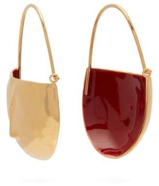 Marni Face Drop Earrings - Womens - Red
