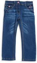 Bob Der Bar Girls 2-6x Little Girls Embroidered Jeans