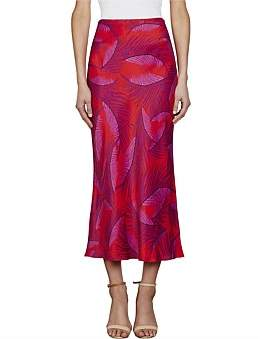 Shona Joy Phoenix Bias Midi Skirt