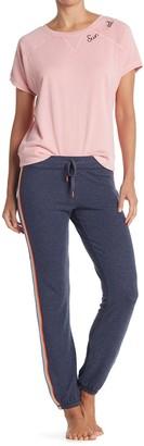 PJ Salvage Printed Knit Drawstring Pajama Pants