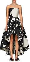 Martin Grant Women's Dot Jacquard Strapless Cocktail Dress