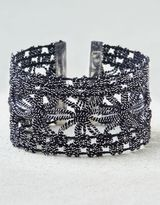 American Eagle Outfitters AE Metallic Lace Bracelet