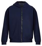 Calvin Klein Collection Pelser mesh-panelled zip-through sweatshirt