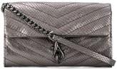 Rebecca Minkoff Edie embossed crossbody bag