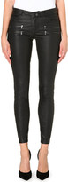 Paige Edgemont skinny leather trousers